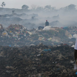 Landfills of Dominican Republic, which are the differences between rural, urban and touristic environment?