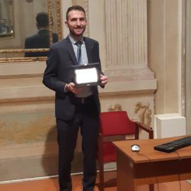 """Mario Falciai"" award won by Francesco Pavani, one of our MSc student"